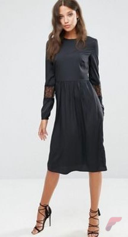 Awsome casual midi dress173