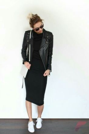 Awsome casual midi dress177