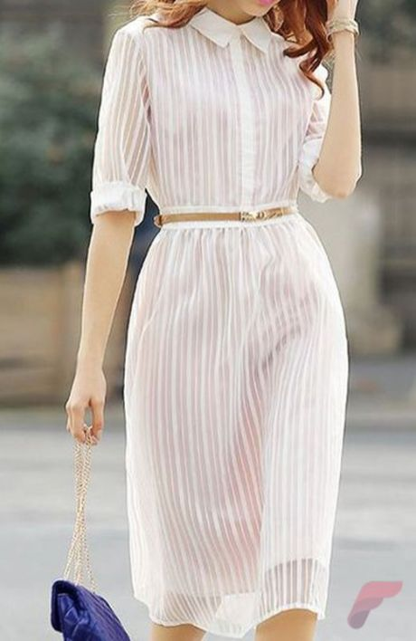 Awsome casual midi dress183