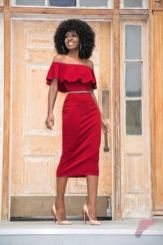 Awsome casual midi dress185