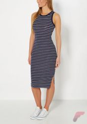 Awsome casual midi dress187