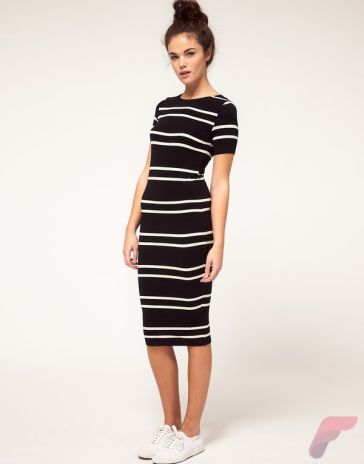 Awsome casual midi dress19