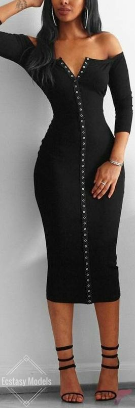 Awsome casual midi dress197