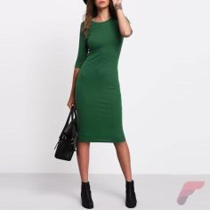 Awsome casual midi dress212