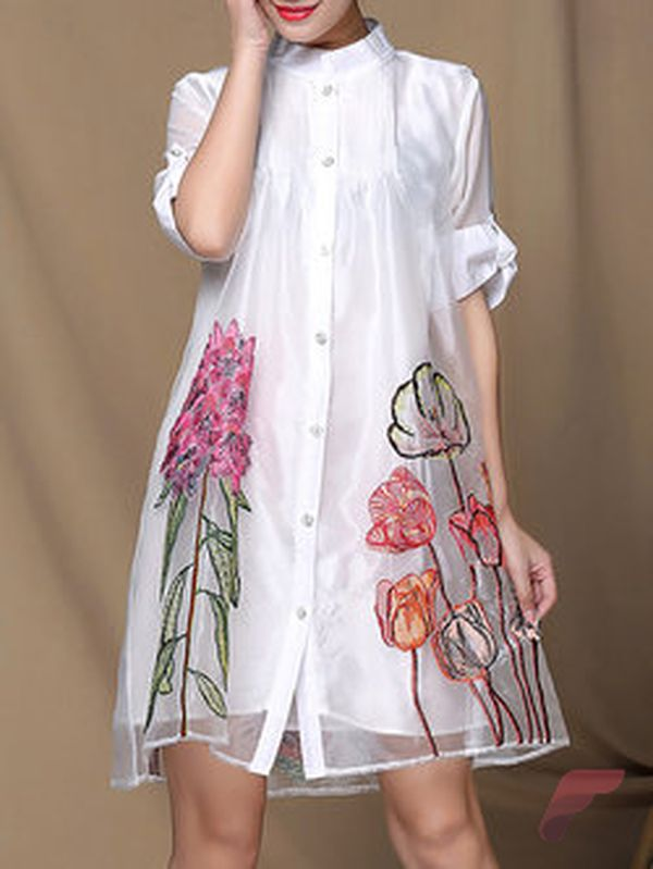 Awsome casual midi dress31