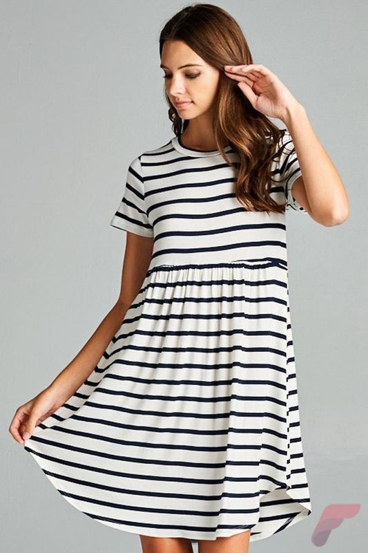 Awsome casual midi dress42