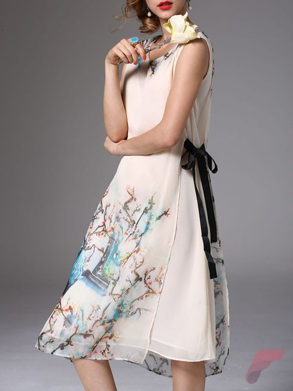 Awsome casual midi dress48