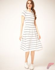 Awsome casual midi dress70