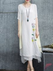 Awsome casual midi dress71