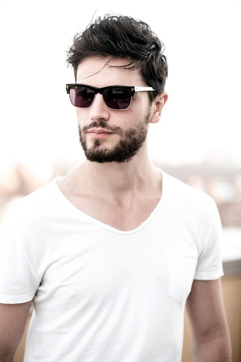 Best men short beard and mustache style 18