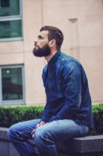 Best men short beard and mustache style 51