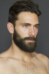 Best men short beard and mustache style 67