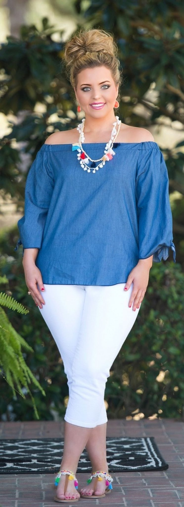 Best summer 2017 outfit for plus size 38