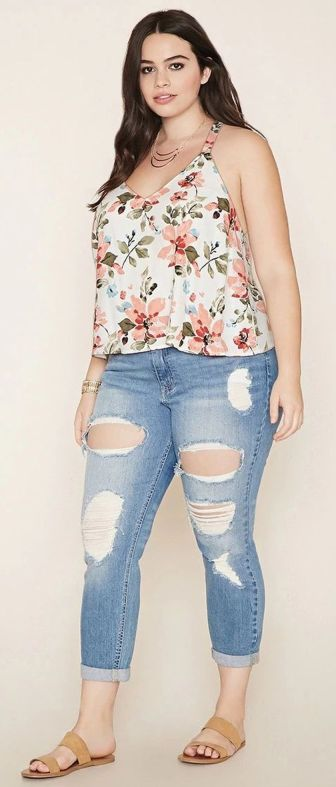 Best summer 2017 outfit for plus size 51