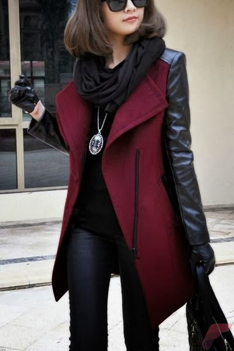 Black leather jacket outfit 55