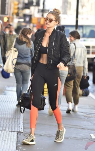 Celebrity workout style 27