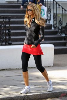 Celebrity workout style 79