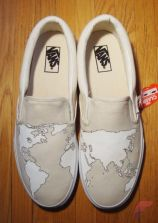 Custom painted vans shoes 18
