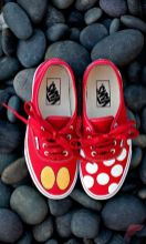 Custom painted vans shoes 54
