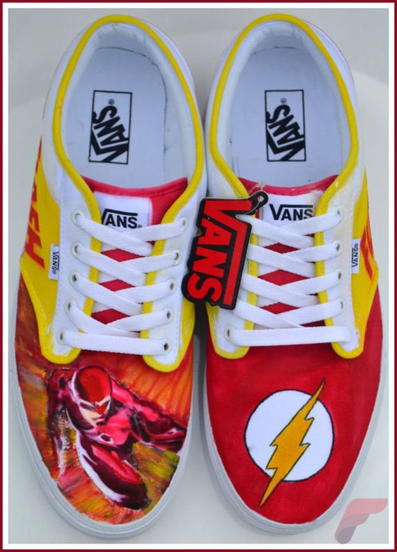 Custom painted vans shoes 66