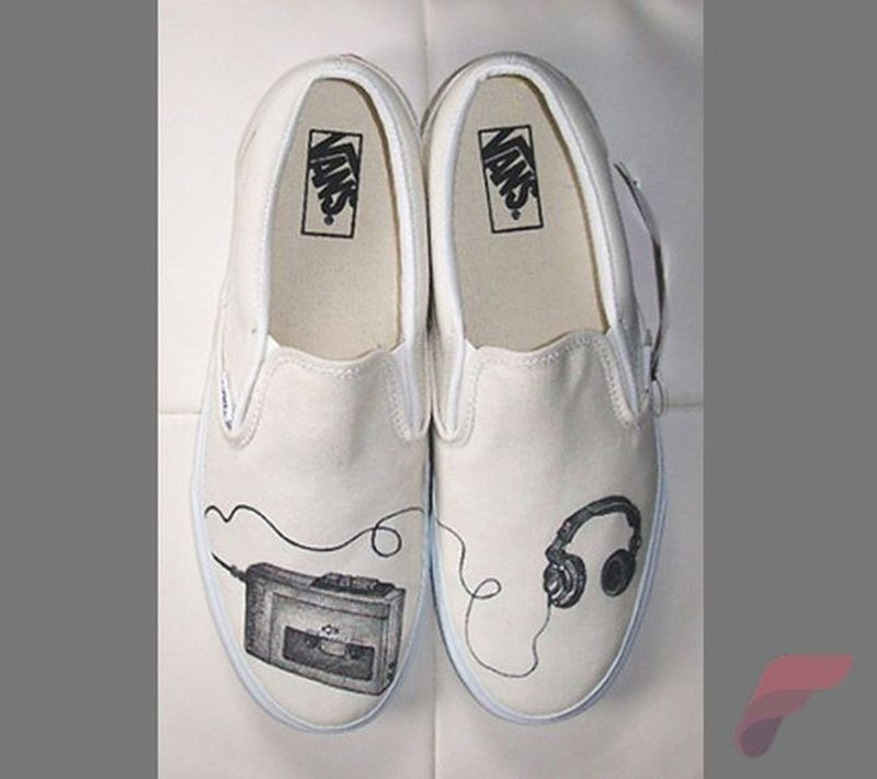 Custom painted vans shoes 78