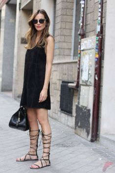Flat lace up shoes trend 30