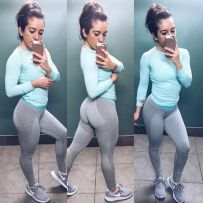 Gymshark flex legging outfits 25