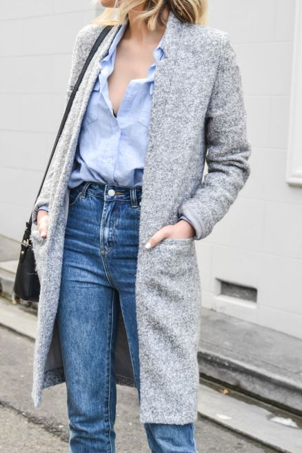 High waisted jeans outfit style 103
