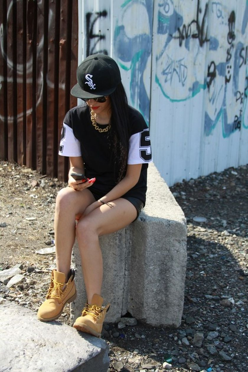 Ideas how to wear timberland boots for girl 25