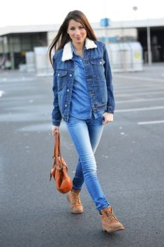 Ideas how to wear timberland boots for girl 38