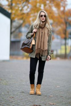 Ideas how to wear timberland boots for girl 49