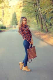 Ideas how to wear timberland boots for girl 53