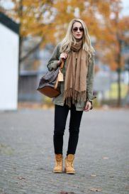 Ideas how to wear timberland boots for girl 54