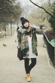 Ideas how to wear timberland boots for girl 55