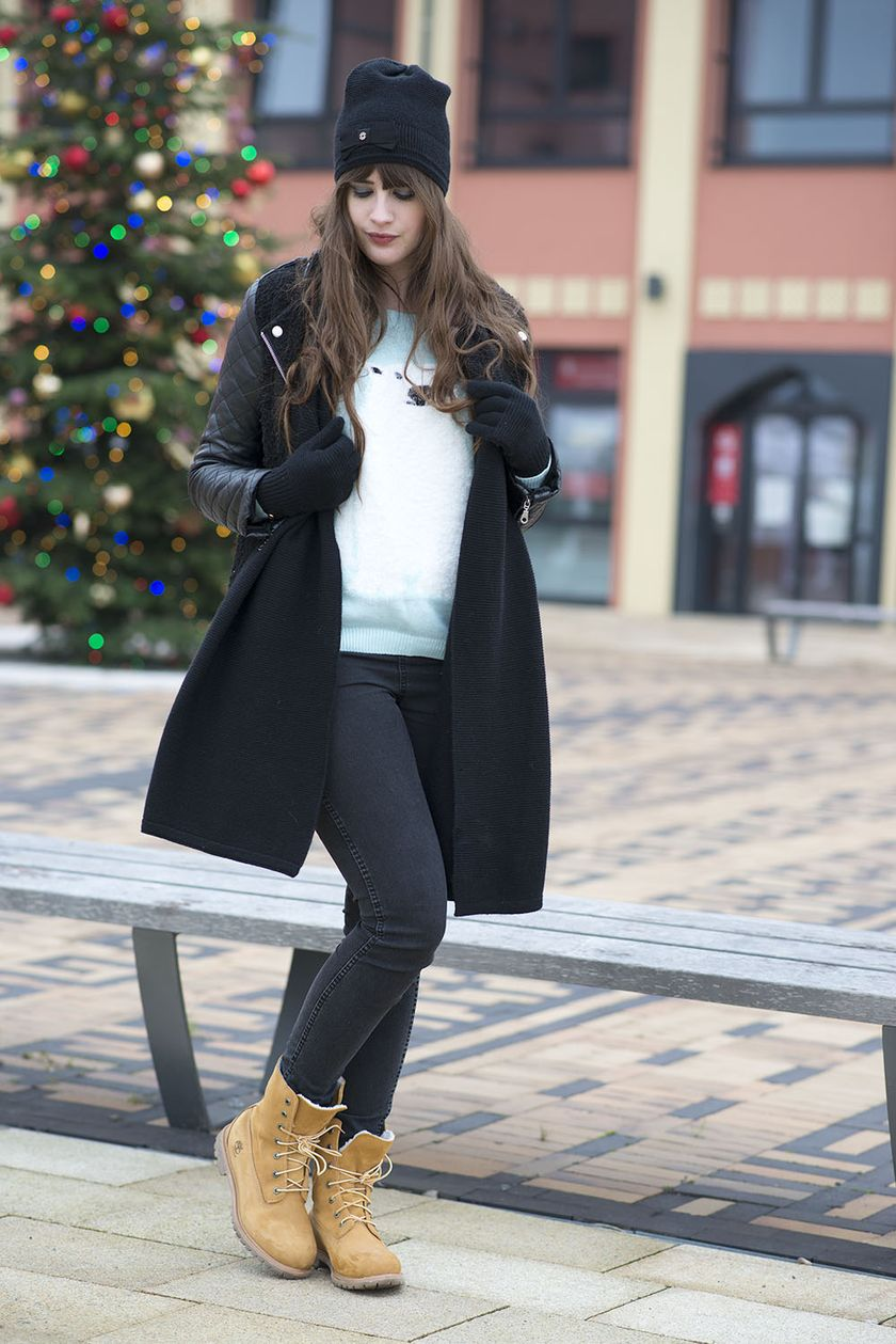 Ideas how to wear timberland boots for girl 66