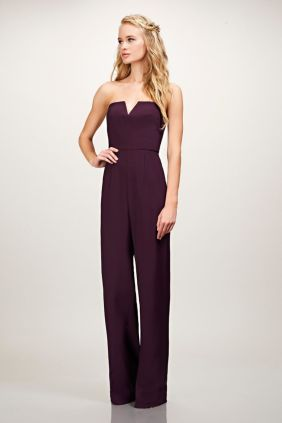 Jumpsuits strapless outfit 16