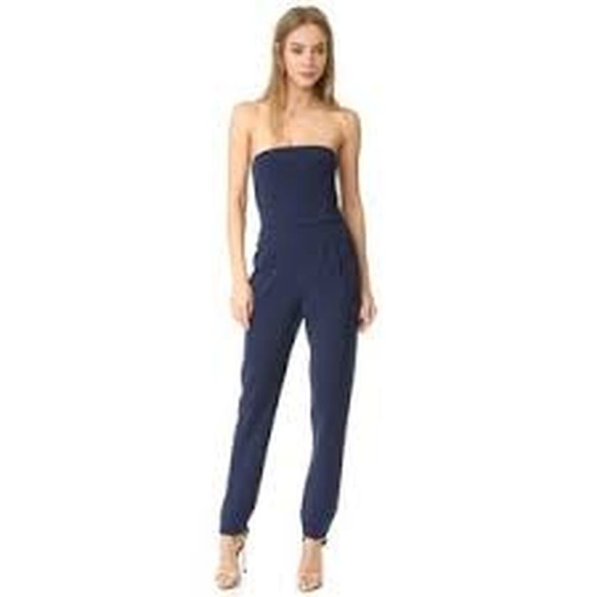 Jumpsuits strapless outfit 18