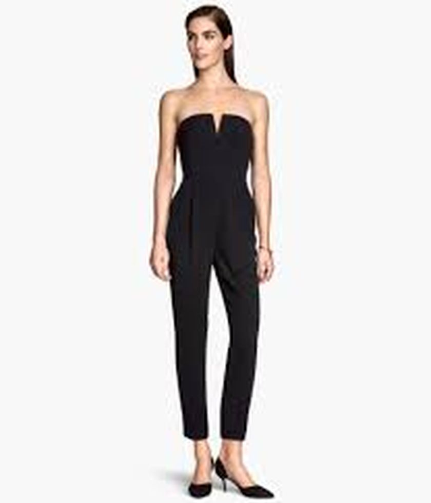 Jumpsuits strapless outfit 22