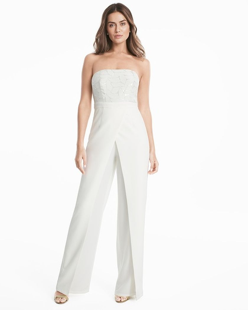 Jumpsuits strapless outfit 40