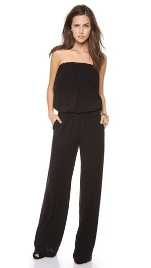 Jumpsuits strapless outfit 49