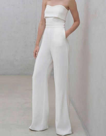 Jumpsuits strapless outfit 50
