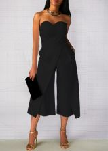 Jumpsuits strapless outfit 52