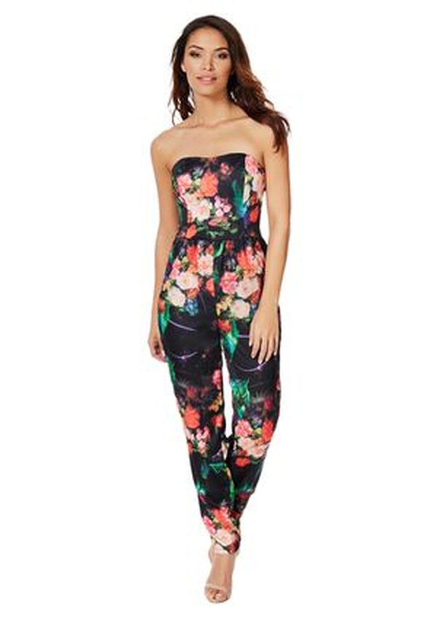 Jumpsuits strapless outfit 79