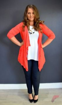 Layering outfits plus size sweaters 10