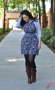 Layering outfits plus size sweaters 11