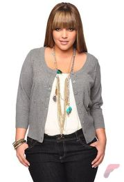 Layering outfits plus size sweaters 14