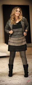 Layering outfits plus size sweaters 19
