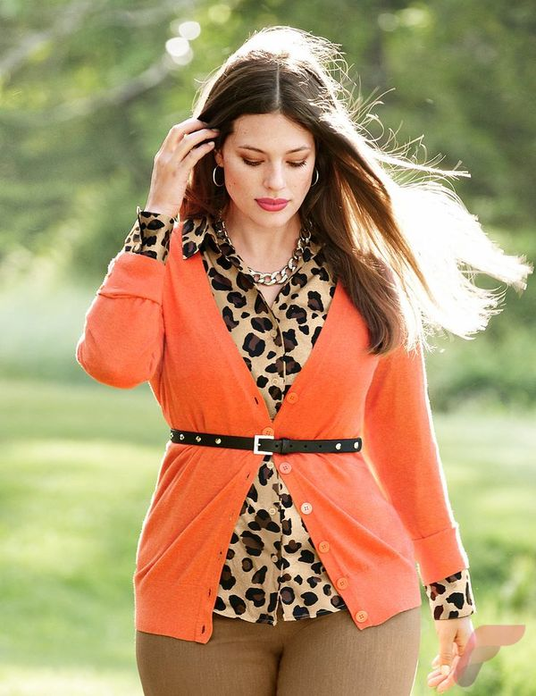 Layering outfits plus size sweaters 2
