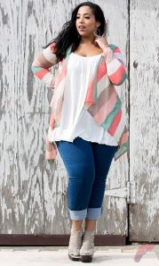 Layering outfits plus size sweaters 21