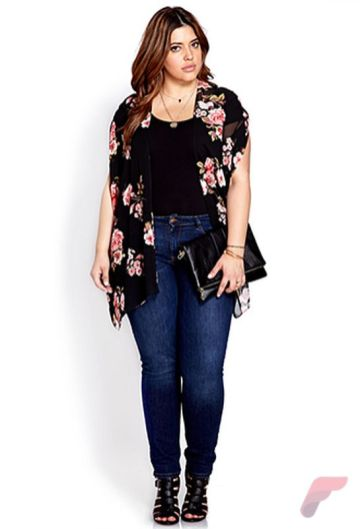 Layering outfits plus size sweaters 29